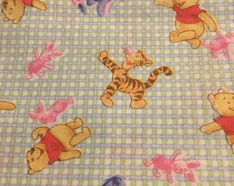 "Winnie the Pooh weave, by Springs Industries, 43-44"" wide, 100% cotton By the half yard"