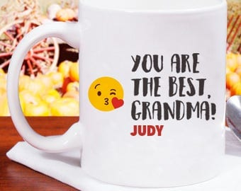 You Are The Best Grandma! Personalized With Name Or Initial Mug