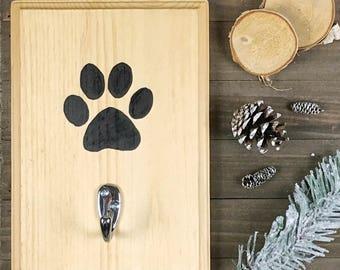 Wooden Leash Hanger | Dog Leash Hanger | Leash Holder | Wooden Leash Holder | Dog Collar Hanger | Dog Sign | Dog Storage | Dog Accessories