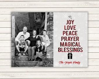 Buffalo Plaid Holiday Cards, Photo Christmas Cards, Printed Christmas Cards, Holiday Photo Cards, Buffalo Plaid Christmas Cards, Photo Cards