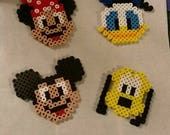 I will make 100 Perler bead characters.
