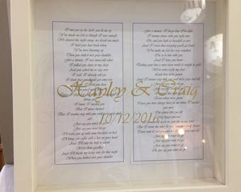 Personalised frames for any occasions .
