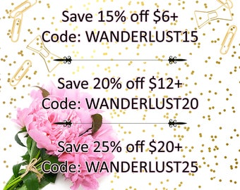 COUPON CODES! Do NOT Buy This Listing!