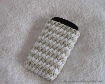 Case for smartphone Iphone crochet