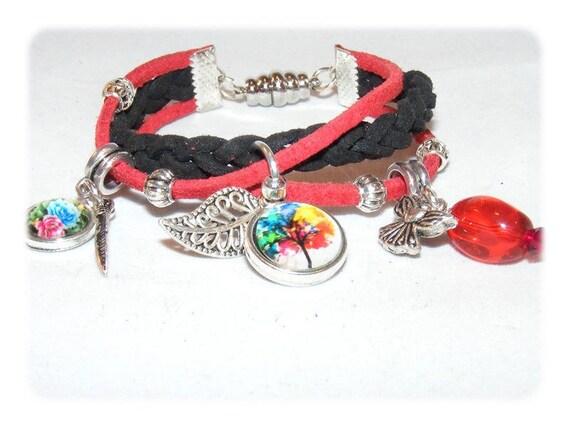 Cuff style bracelet * multi-color பல நிற * unique