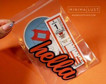 The San Francisco Native Sticker Pack - SF - San Francisco - Native - SF Muni Transfer - Karl the Fog - Hella Stickers