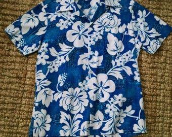 Royal Hawaiian Bark Cloth 1970s Shirt