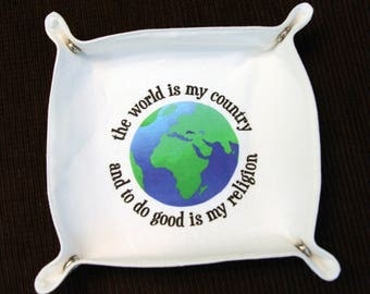 Atheist Thomas Paine Valet Tray