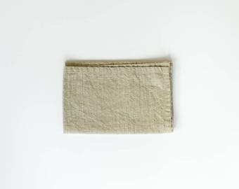 linen cloth napkins / natural / everyday rustic / set of two