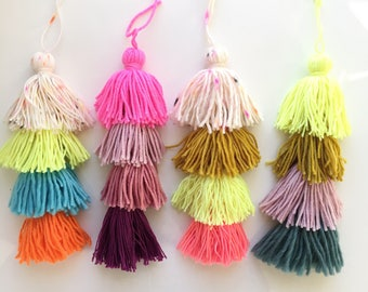 Stacked Tassel Ornaments