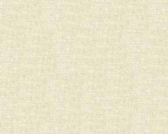 Essex Linen in Natural from Robert Kaufman quilting apparel fabric material by the yard or metre E014-1242 off white