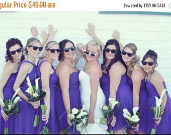10% OFF Bridesmaids Sunglasses - Set of 7 Bridal Party Sunglasses