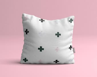 More • small cushion cover