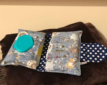 Circus Nappy and whipes holder, Diaper Bag