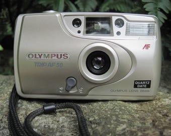 Vintage Olympus Trip AF 50 35 mm Camera