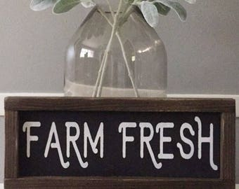 Farm Fresh Sign | Kitchen Sign