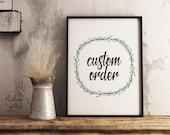 Custom Order Psalm 46:10