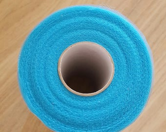 sales to 13 instead of soft tulle 15.50.Rouleau Turquoise 15 cm x 82 m for tutus, dresses and tulle cheap