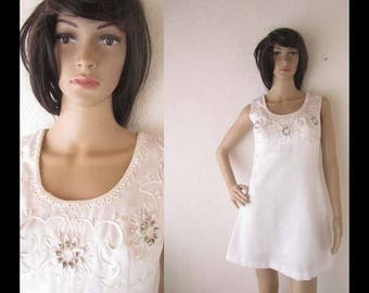 "True vintage 60s Dress ""Twiggy"" mini dress diols S"