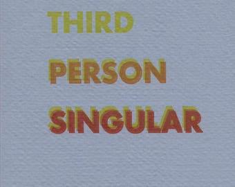 Third Person Singular by Rosmarie Waldrop