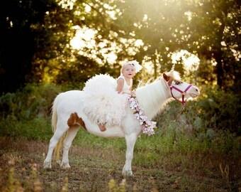 Free headpiece this week ivory flower girl dress,flower girl dress ivory,ball gown flower girl dress,feather flower girl dress,tulle flower