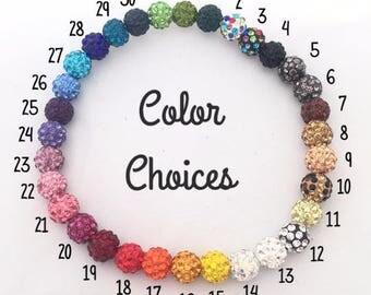 Shamballa Beads, 10mm