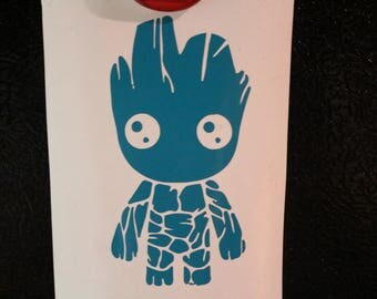 Little Groot Guardians of the Galaxy The Avengers Marvel Decal Any Size Any Colors