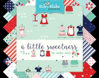 Bundle of A Little Sweetness Collection by Tasha Noel for Riley Blake, Choose the Cut, Sweetness Hearts