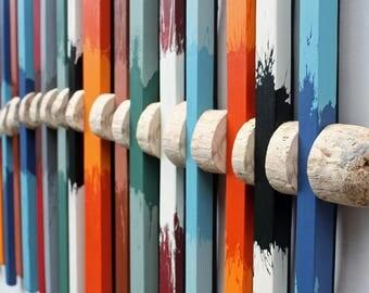 Driftwood Art | Wood Wall Art | 'Spinal Drift IV' | Large Wall Art | Contempary Art| Abstract Art| Sculpture | Wall Art |