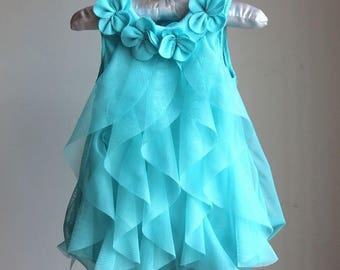 Summer Chiffon Party Dress Infant 1 Year Below Party Dress Dresses