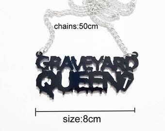 Graveyard Queen Necklace