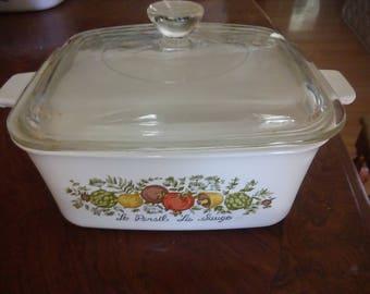 Corningware-vintage-7×5- casserole dish