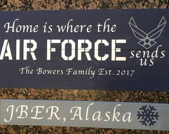 Home is Where the Military Sends Us
