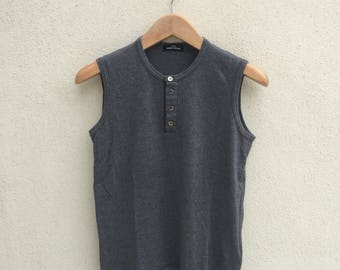 Comme Des Garcons Tricot Sleeveless Tshirt
