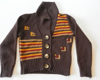 70's Magnificent Childrens Wool Sweater