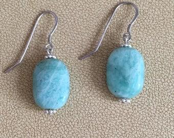 Amazonite earrings