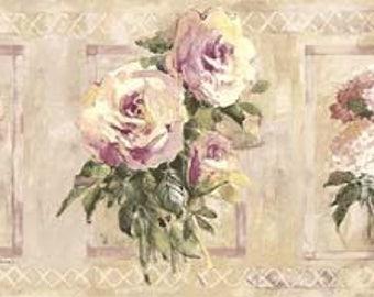 Floral Wallpaper Border SP76484