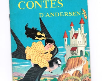 french Vintage Children's Book: stories from Andersen / Andersen / L.Hess / 1968