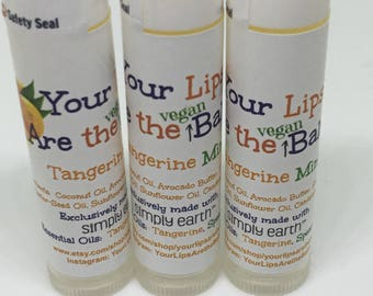 Your Lips are the Balm Tangerine Mint Lip Balm