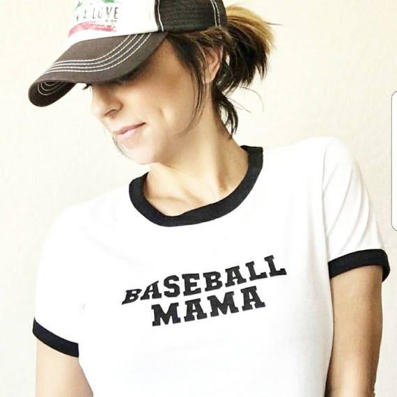 BASEBALL MAMA Tees or Tanks, Baseball Mom, Baseball Tee, Baseball Mom Shirt, Baseball Moms, Baseball Shirt Mom, Baseball Lover