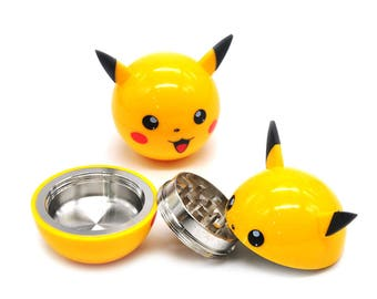 Pikachu Kitchen Herb Grinder
