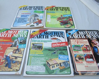 Mother Earth News, 1985 magazines, 1985 Mother Earth News, organic gardening, country living, recycling, Do it Yourself ideas. survivalist