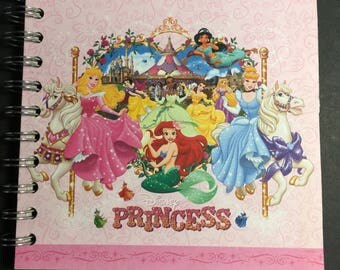 Princess autograph book- Disney autograph book