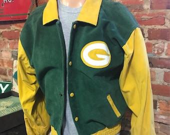 Vintage Green Bay Packers Coat