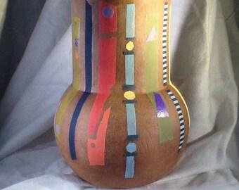 Handmade Redware Vase