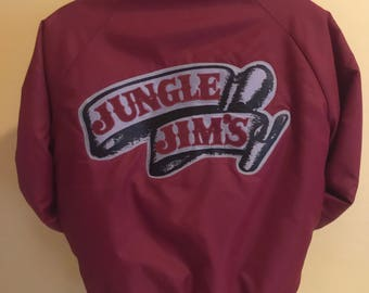 Vintage Large Mens lined Jungle Jim Jacket Made in the USA