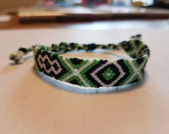 Handmade Woven Friendship Bracelet (Adjustable)