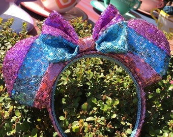Fantasyland Stripe Sequin Mouse Ears