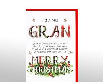 Christmas Card Tae Ma Gran Poem WWXM03