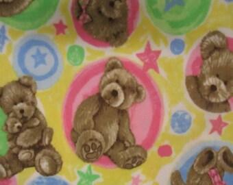 Fleece, Boyd's Bear multi pastel colors